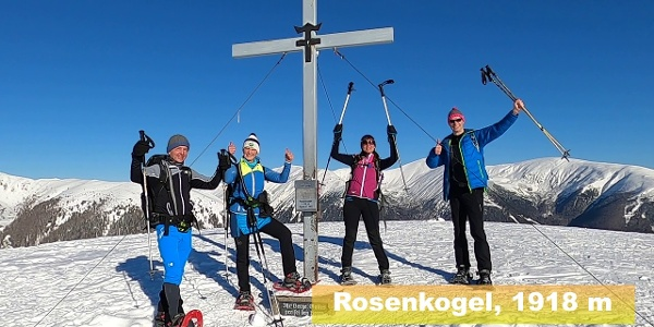SchneeschuhTIPP #4 in der Region Murtal - Rosenkogel / Seckauer Alpen / Gaal