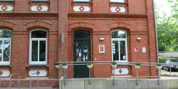 Tourist-Information im alten Bahnhof (Samtgemeinde Mittelweser)