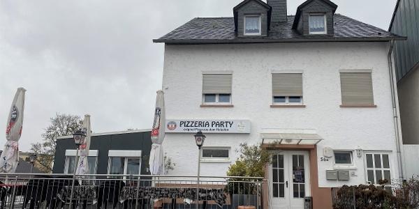 Pizzeria Party Außenimpression
