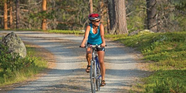 På sykkel i Dokkfaret