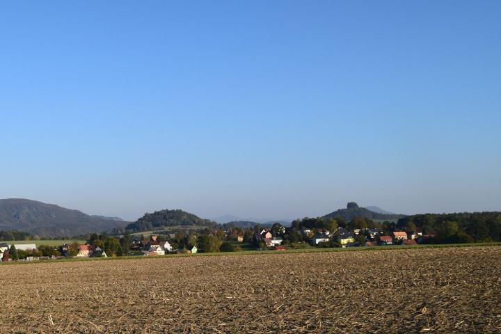Foto Blick auf Zirkelstein und Kaiserkrone