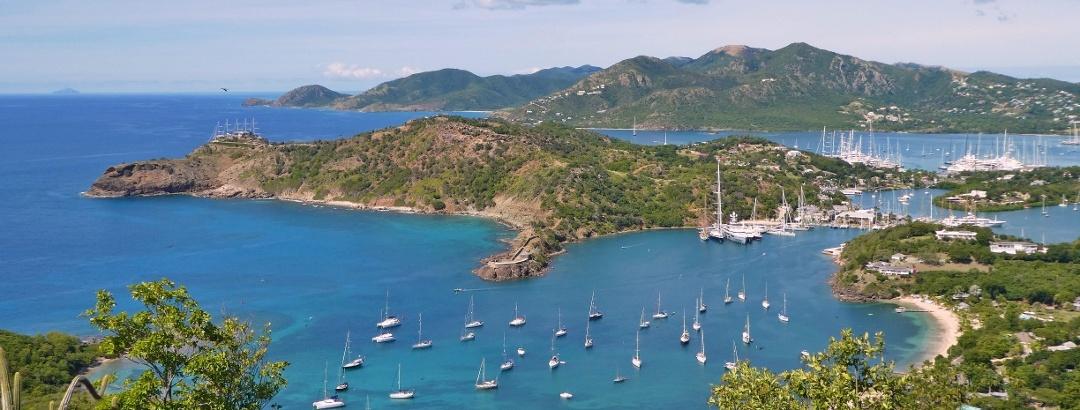 Landschaft in Antigua und Barbuda