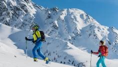 Skitour: Hochkreuzspitze in St. Magdalena/Gsieser Tal