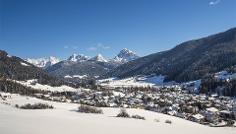 Winterwandern über den Eggerberg in Welsberg