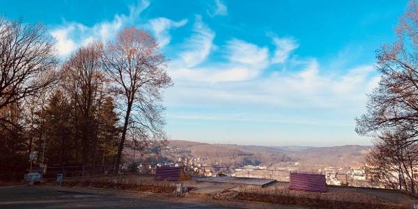 Schönster Blick vom Heidelberg
