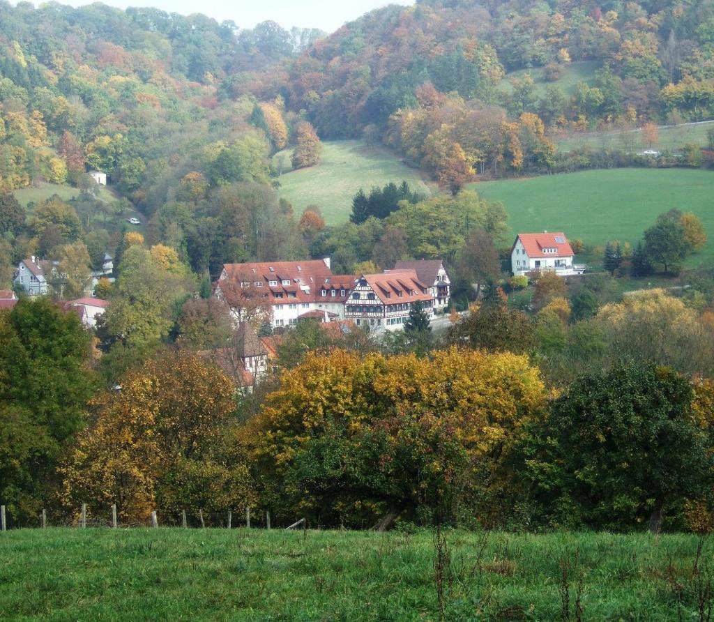 Blick auf Cröffelbach   - © Quelle: Hohenlohe + Schwäbisch Hall Tourismus e.V.