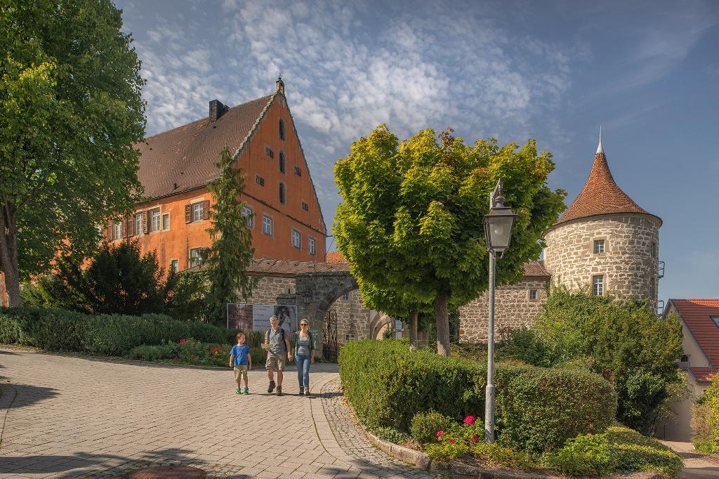 Schloss Obersontheim   - © Quelle: Hohenlohe + Schwäbisch Hall Tourismus e.V.