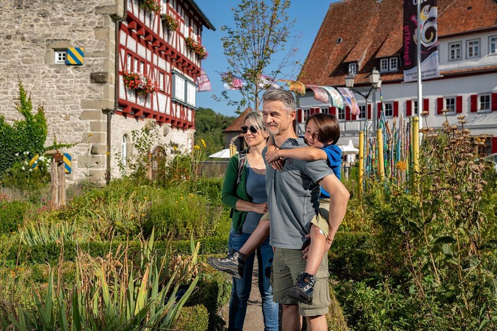 Kräutergarten im Städtle Vellberg   - © Quelle: Hohenlohe + Schwäbisch Hall Tourismus e.V.
