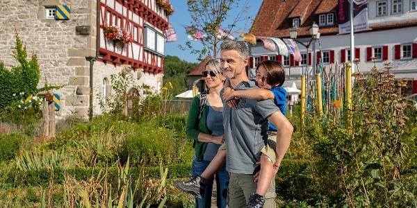 Kräutergarten im Städtle Vellberg