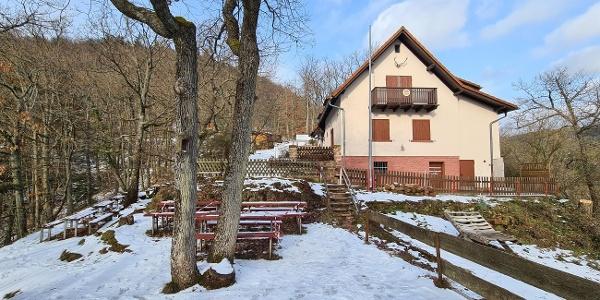 Naturfreundehaus im Winter