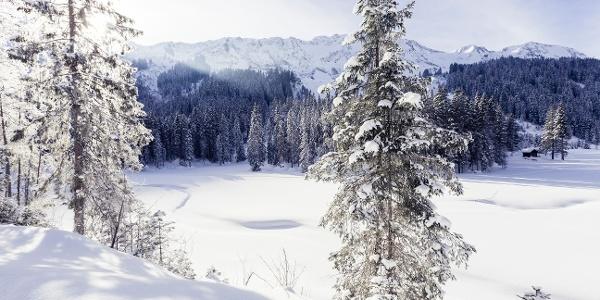 Winterlandschaft Melköde