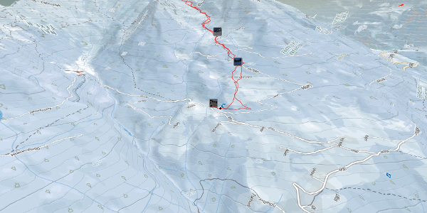 Skitour im Meraner Land: Rossgruben (2380 m) vom Parkplatz Kratzegg