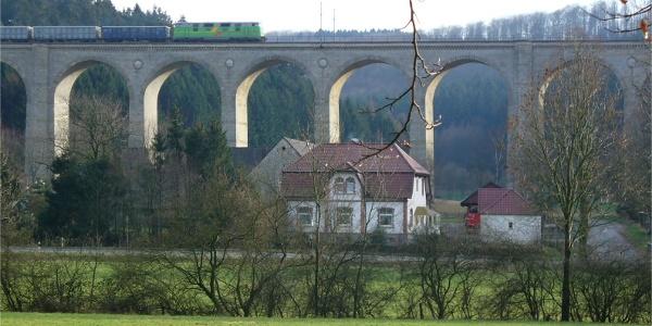 Dunehof und Kleiner Viadukt