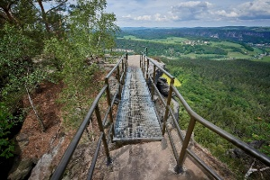 Foto Aussicht auf dem Lilienstein