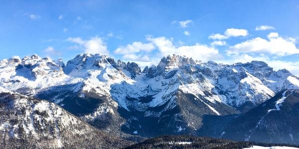 Panorama von der 5 Laghi Hütte