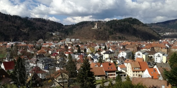 Blick vom Schänzle auf Waldkirch