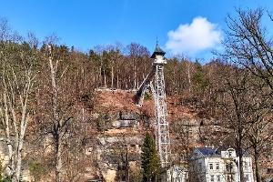 Foto Historischer Personenaufzug Bad Schandau