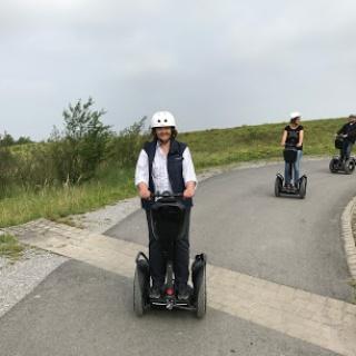 Segwaytour auf verkehrsarmen Wegen