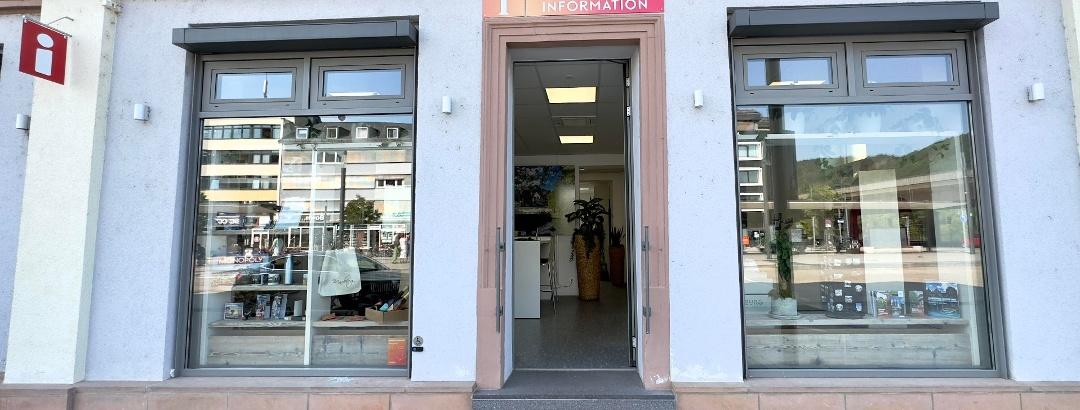 Eingang Tourist-Information Marburg