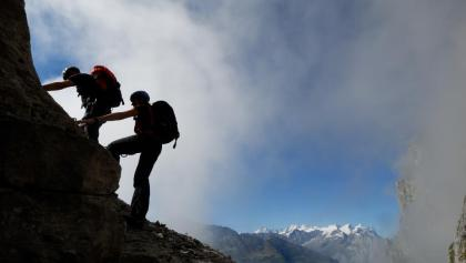 Klettersteig Basel : Klettersteig u egantrischu c august aacbasel