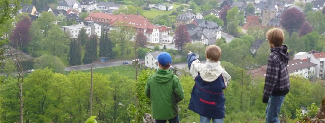Aussicht vom Schiebergkreuz