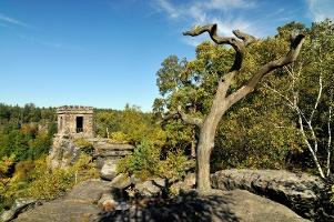Foto Kaiser Willhelm Feste bzw. Bielablick - Aussichtspunkt