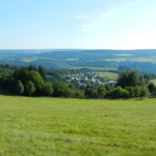Ausblick in Richtung des Moseltales