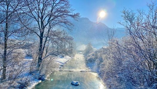 Kiefersfelden Kieferbach Kaisergebirge Inntal