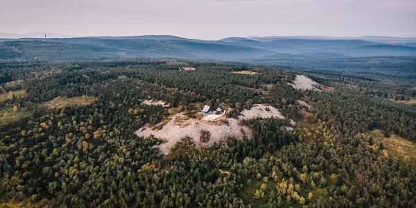 Kahleberg  von oben