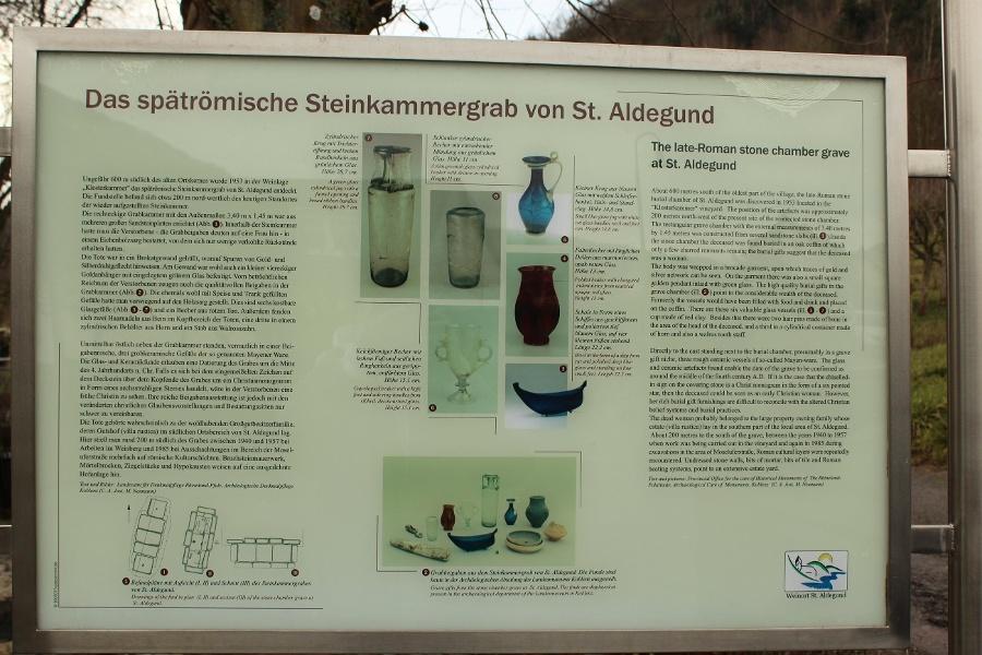 Foto: Spätrömische Steinkammergrab