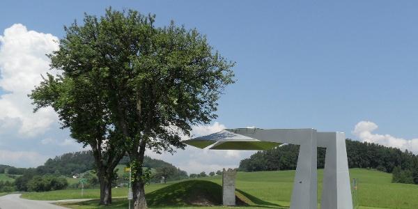 Römergrab in Lebing
