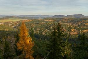 Foto Panoramablick Sächsisch- Böhmische Schweiz