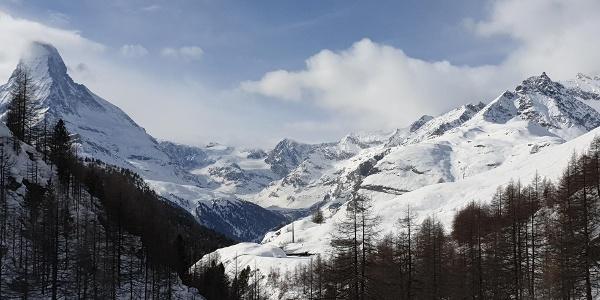 Auf dem Winter Wonder Trail