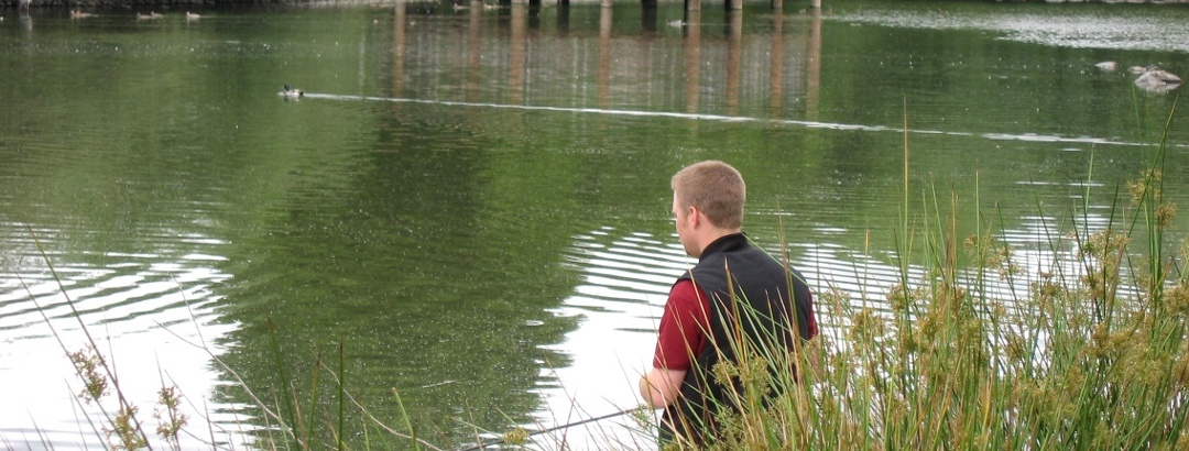 Fischen am see