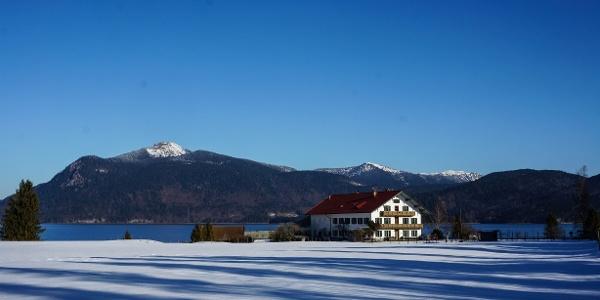 Ausgangspunkt am Walchensee-Südufer