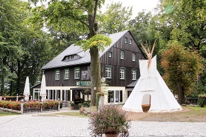 Foto Gaststätte auf dem Ungerberg
