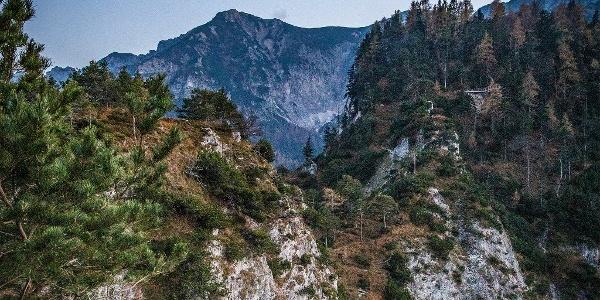 Ausblick entlang des Weges zum Dötzenkopf