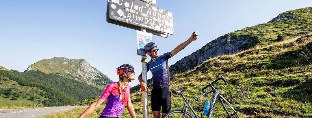 Col d'Agnès dans les Pyrénées Ariégeoises