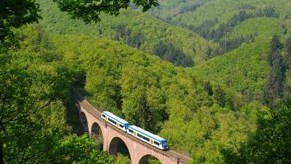 Hubertusviadukt Hunsrückbahn