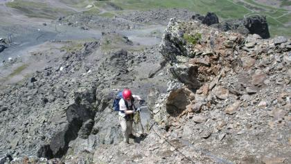 Klettersteig Zams : Cima capi fausto susatti klettersteige