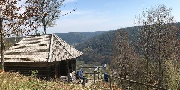 Wetterfahnenhütte am Wildbader Kopf