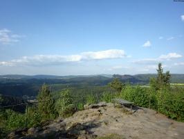 Foto Aussicht vom Kohlbornstein
