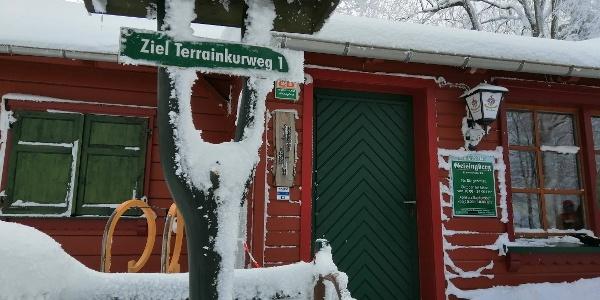 Geisingbaude im Winter
