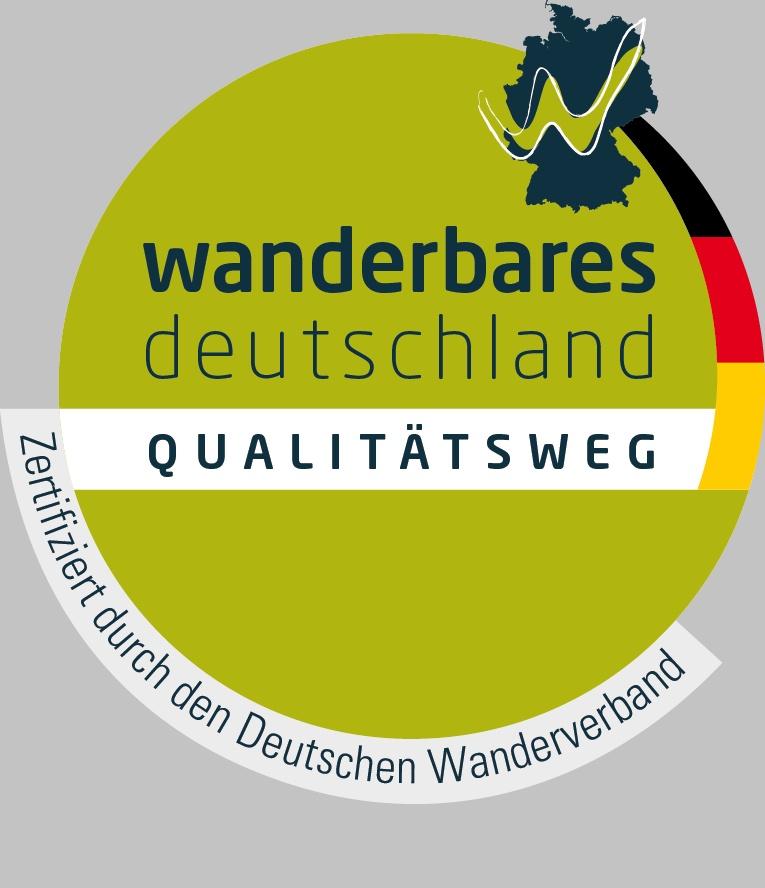 Logo Wanderbares Deutschland Qualitätsweg