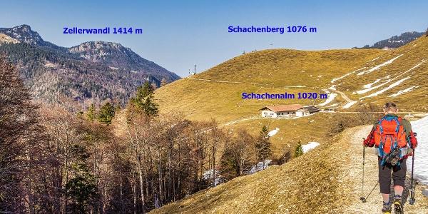 Schachenalm Schachenberggipfel
