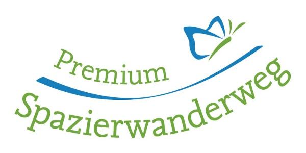 Logo Zertifizierung Premium Spazierwanderweg