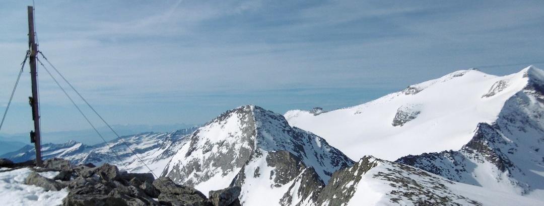 Oberlercherspitze, Preimlspitze, Hochalmspitze - bearbeitet für Content Slider