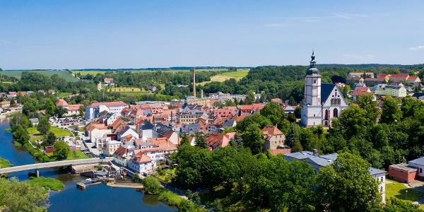 Luftbild Stadt Penig
