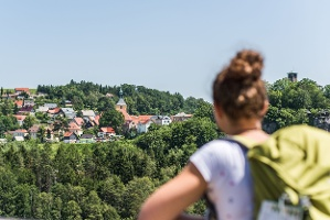 Foto Hockstein Aussicht Blick nach Hohnstein