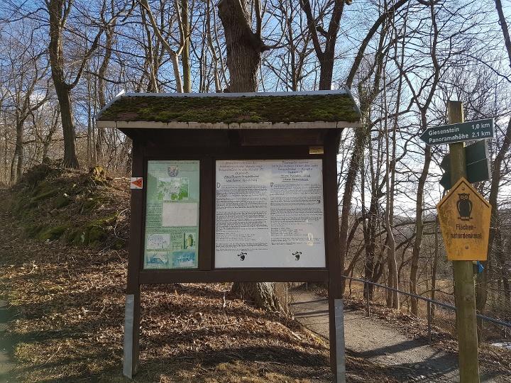 Foto Tafel des Montanhistorischen Wanderweg
